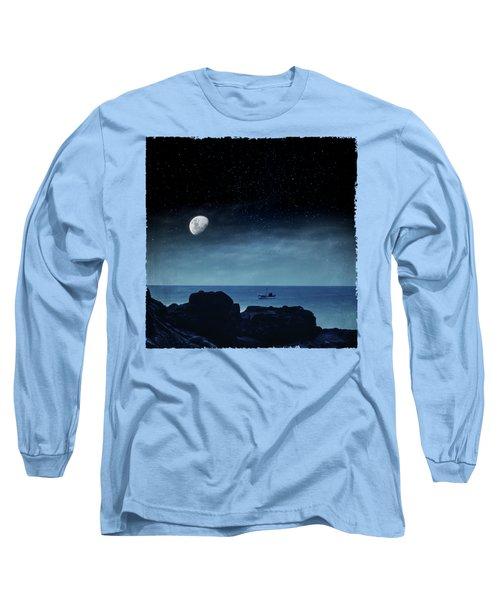 Nocturnal Sea Long Sleeve T-Shirt