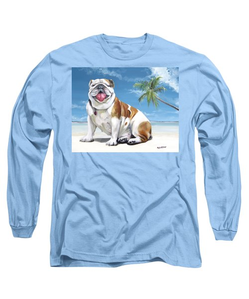 Norma Jean The Key West Puppy Long Sleeve T-Shirt by Phyllis Beiser