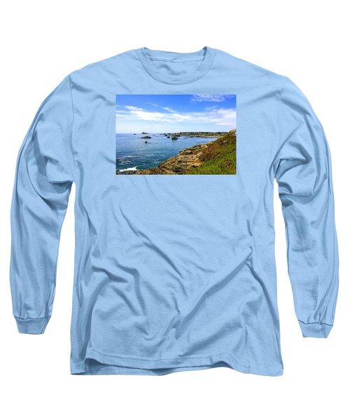 North California Coastline Long Sleeve T-Shirt