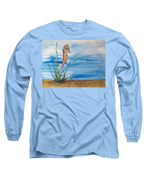 Northern Seahorse Long Sleeve T-Shirt