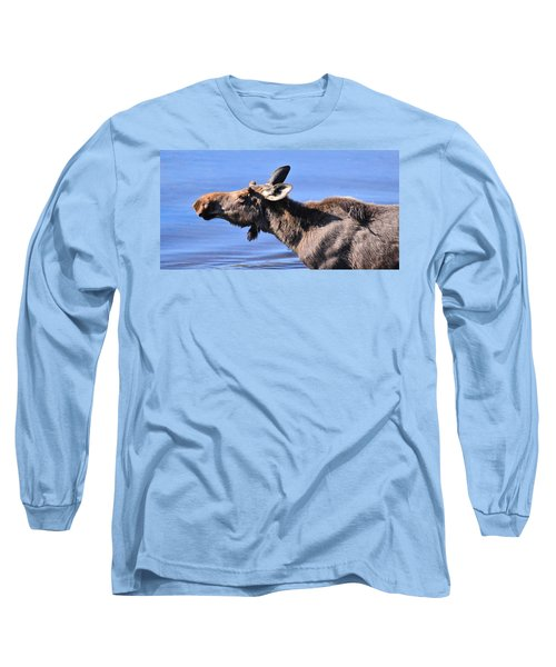 Nose First - Moose Long Sleeve T-Shirt