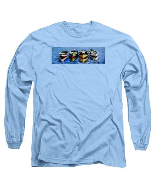 Not Alone Long Sleeve T-Shirt by Natalia Tejera