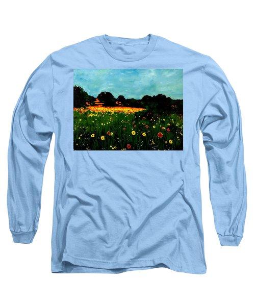 Not Another Bluebonnet Painting Long Sleeve T-Shirt