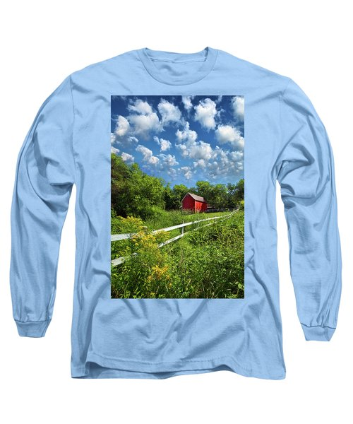 Noticing The Days Hurrying By Long Sleeve T-Shirt by Phil Koch