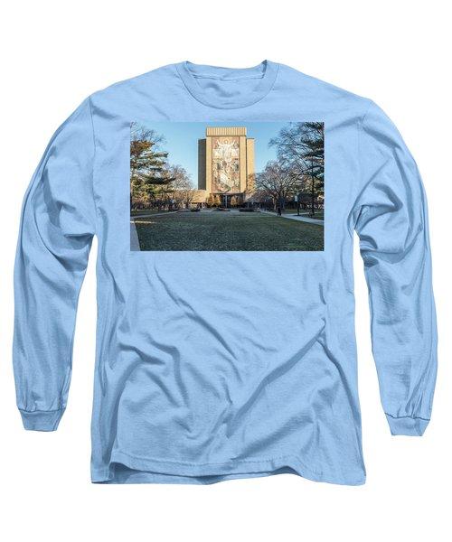 Notre Dame Touchdown Jesus  Long Sleeve T-Shirt