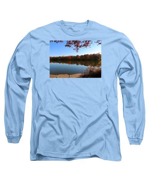 November Colors Long Sleeve T-Shirt by Teresa Schomig