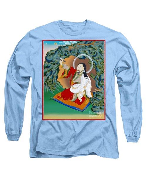 Nubchen Sangye Yeshe Long Sleeve T-Shirt by Sergey Noskov