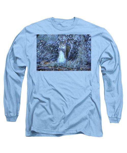 Long Sleeve T-Shirt featuring the photograph Nuts Anyone by Deborah Benoit