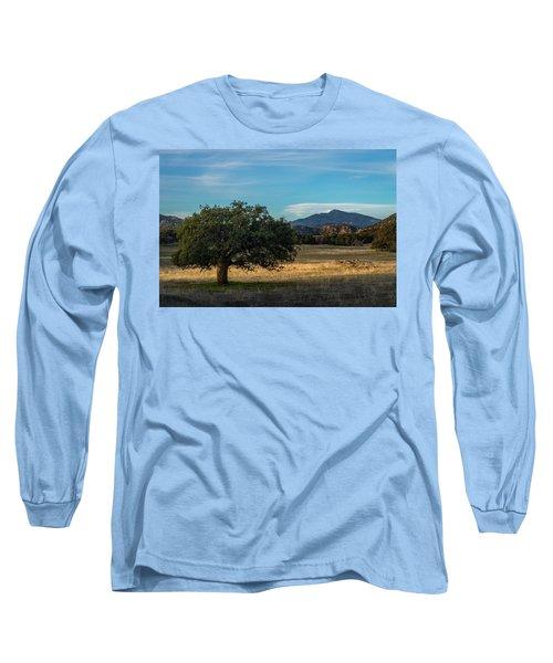 Oak And Cuyamaca Long Sleeve T-Shirt
