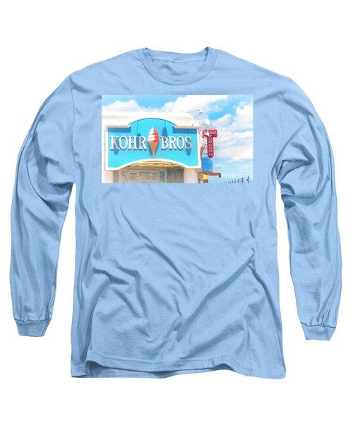 Ocean City Nj Kohr Bros Johnson Popcorn Long Sleeve T-Shirt