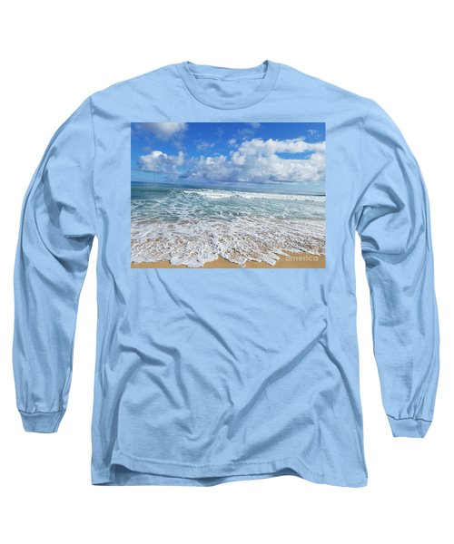 Ocean Foam Long Sleeve T-Shirt