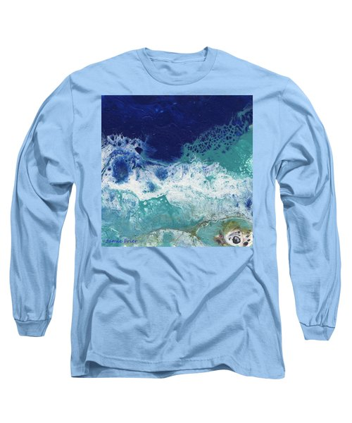 Long Sleeve T-Shirt featuring the painting Ocean by Jamie Frier