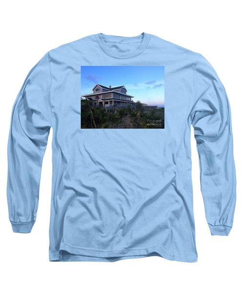 Long Sleeve T-Shirt featuring the photograph Oceanic - Wrightsville Beach by Shelia Kempf