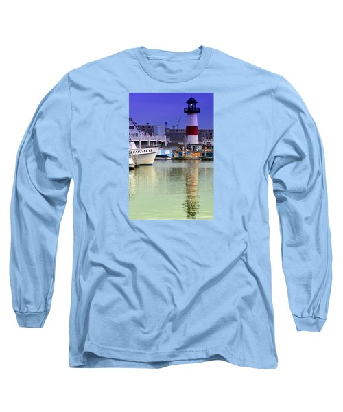 Oceanside Light Long Sleeve T-Shirt by DJ Florek