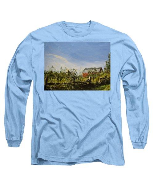 October Fence Long Sleeve T-Shirt