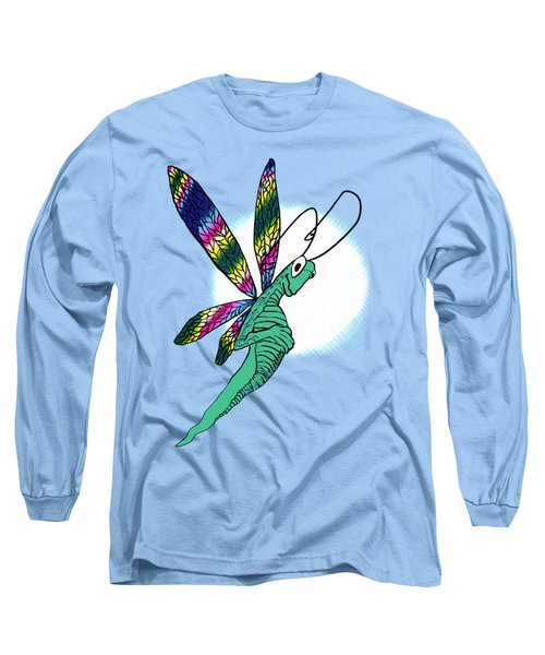 Odd Dragonfly Long Sleeve T-Shirt