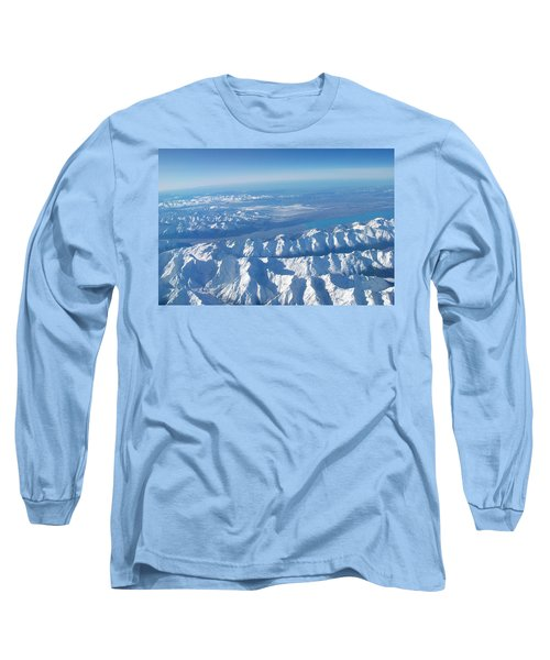 Of Peaks And Lakes Long Sleeve T-Shirt