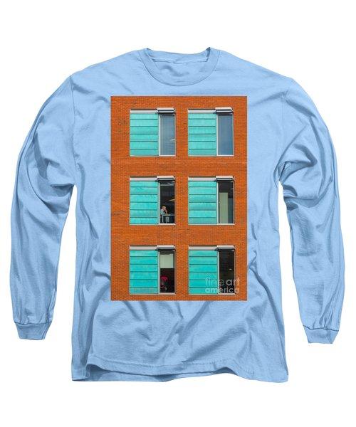 Office Windows Long Sleeve T-Shirt