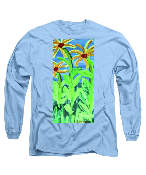 Oh Glorious Day Long Sleeve T-Shirt by Roberta Byram