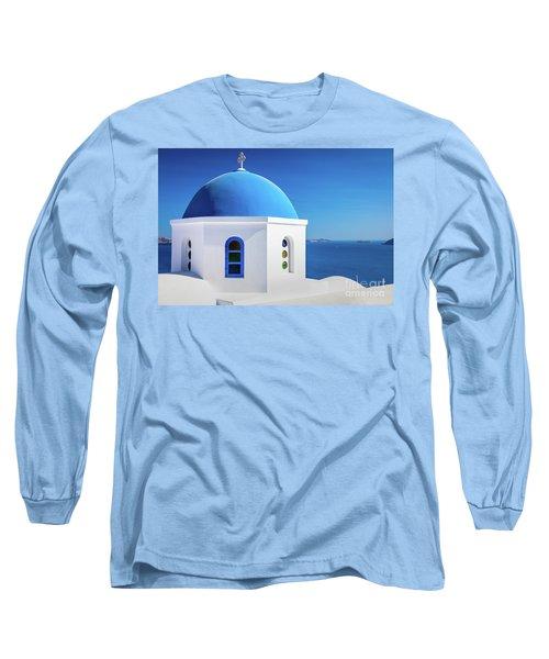 Oia Chapel Long Sleeve T-Shirt