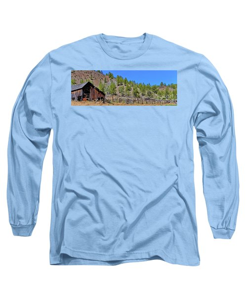Ok Corral Long Sleeve T-Shirt by Ansel Price