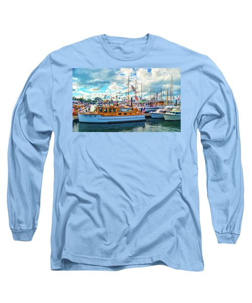 Old Boats Long Sleeve T-Shirt