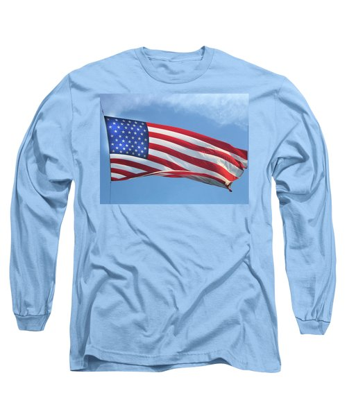 Old Glory Never Fades Long Sleeve T-Shirt