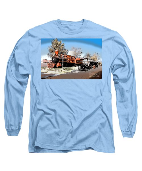 Old Pioneer Train Western Village Las Vegas Long Sleeve T-Shirt
