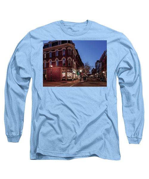 Old Port, Portland Maine Long Sleeve T-Shirt