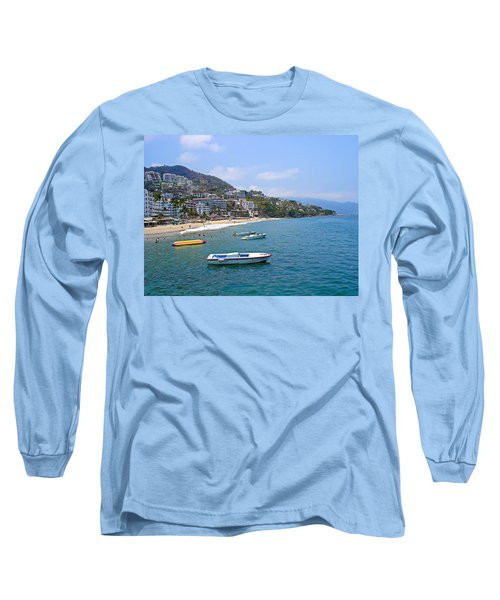 Old Puerto Vallarta  Long Sleeve T-Shirt