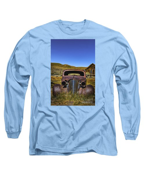 Long Sleeve T-Shirt featuring the photograph Old Rusty by Mitch Shindelbower