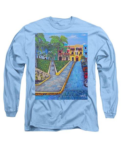 Old San Juan Long Sleeve T-Shirt