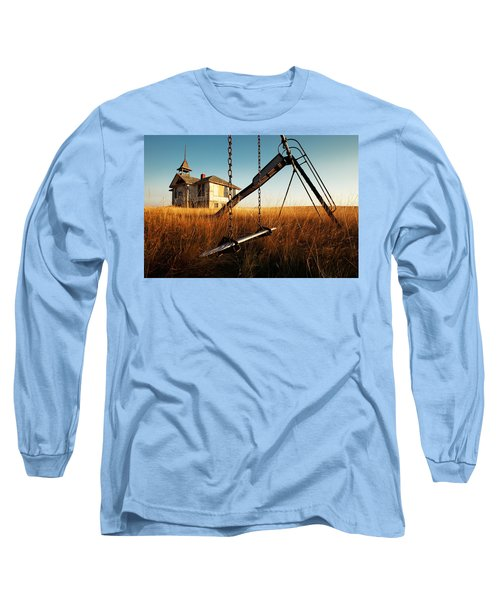 Old Savoy Schoolhouse Long Sleeve T-Shirt