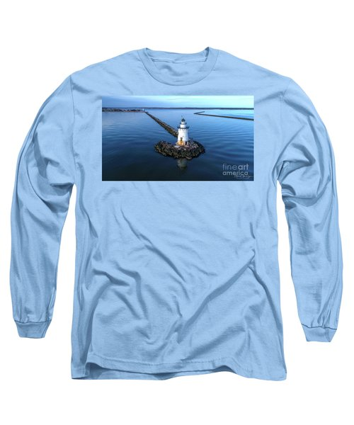 Old Saybrook Outer Lighthouse Long Sleeve T-Shirt