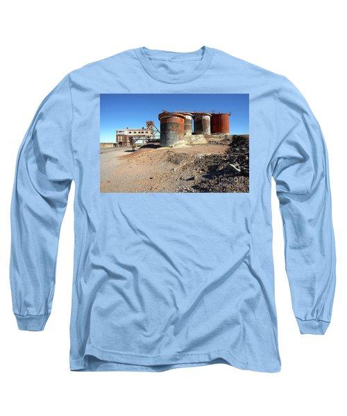 Old Silver Mine Broken Hill Long Sleeve T-Shirt