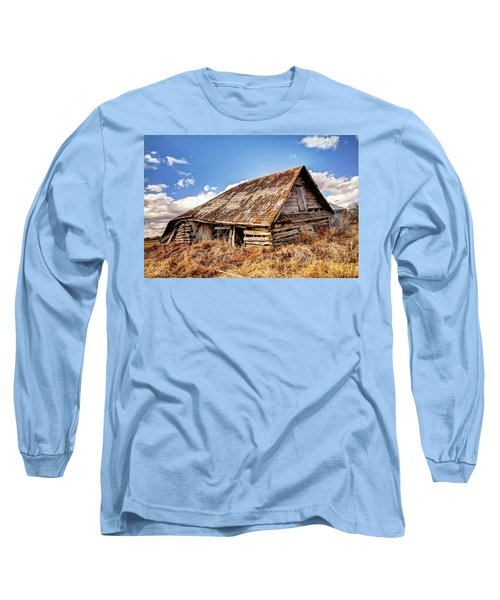 Old Times Long Sleeve T-Shirt by Ryan Crouse