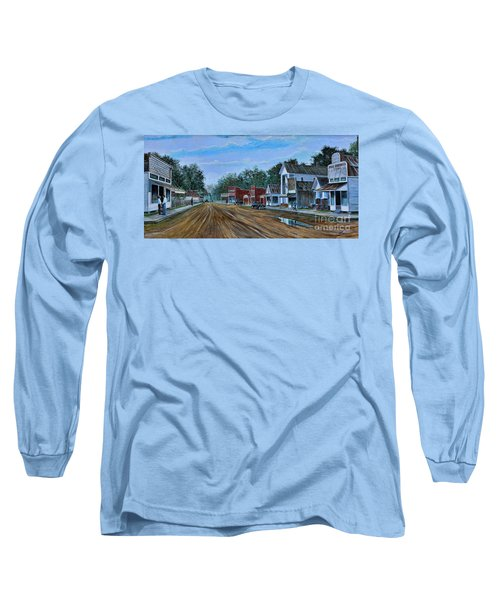 Old Town Breaux Bridge La Long Sleeve T-Shirt