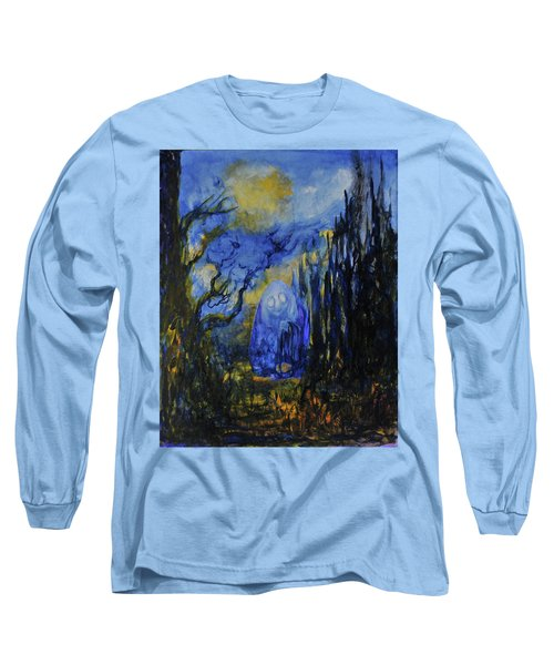Long Sleeve T-Shirt featuring the painting Old Ways by Christophe Ennis