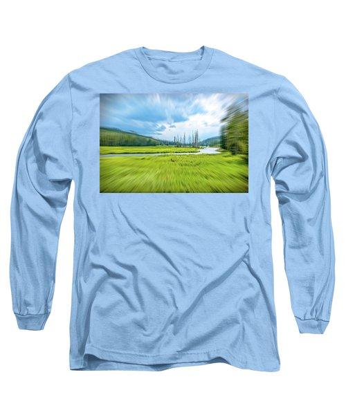 On Approach Long Sleeve T-Shirt by Mark Dunton