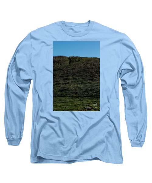 Long Sleeve T-Shirt featuring the photograph On The Hill by Gary Bridger