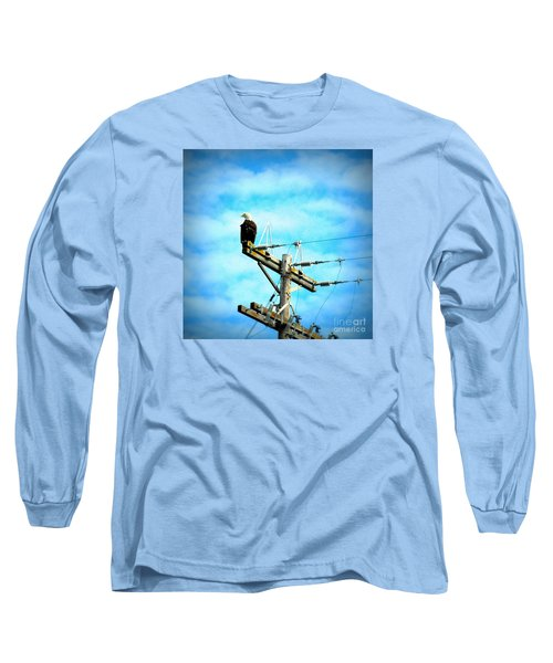 Long Sleeve T-Shirt featuring the photograph On The Job by Tanya Searcy