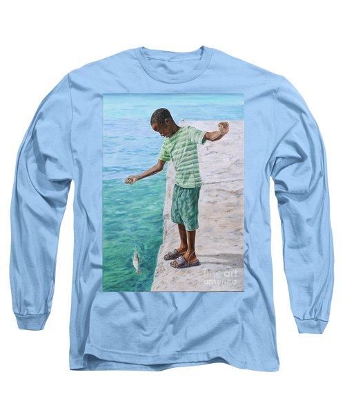 On The Line Long Sleeve T-Shirt