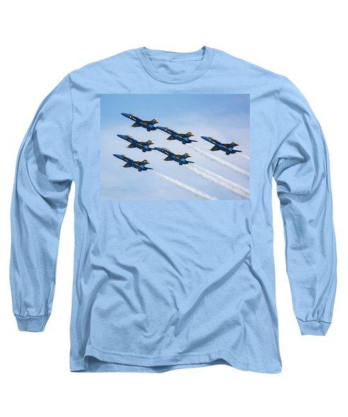 On Wings Like Eagles Long Sleeve T-Shirt
