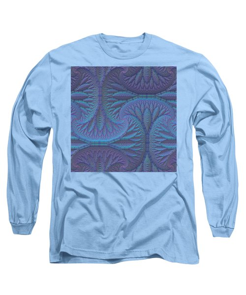 Long Sleeve T-Shirt featuring the digital art Opalescence by Lyle Hatch