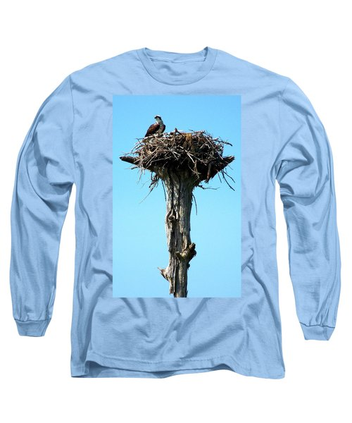 Osprey Point Long Sleeve T-Shirt by Karen Wiles
