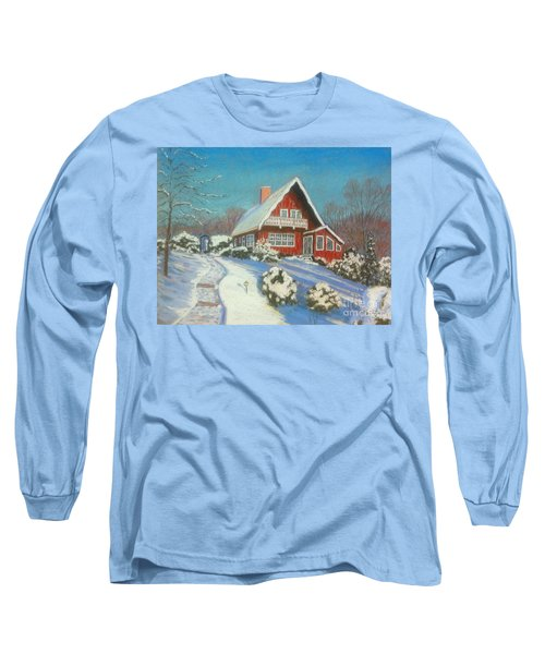 Our Home Long Sleeve T-Shirt by Rae  Smith  PAC