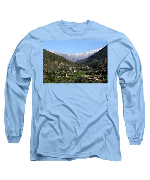 Long Sleeve T-Shirt featuring the photograph Ourika Valley 2 by Andrew Fare