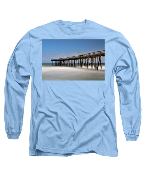 Outer Banks Pier Long Sleeve T-Shirt