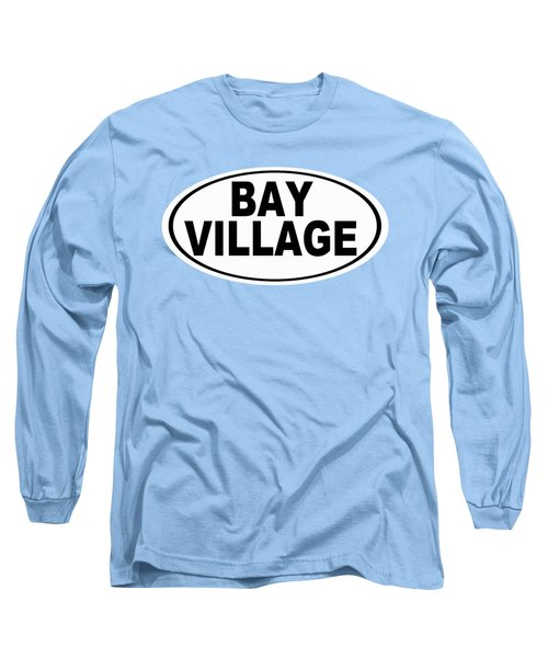 Long Sleeve T-Shirt featuring the photograph Oval Bay Village Ohio Home Pride by Keith Webber Jr