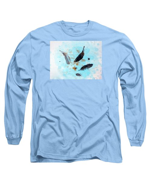 Over The Blue  Long Sleeve T-Shirt